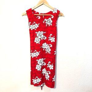 Kapal Art from Bali Tropical Floral Dress XL